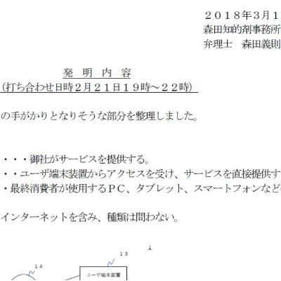 特許での正直な報告と提案